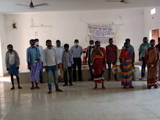 57 families, tribal jewellery, Karamul village, District Dhenkanal, distributed by Anwesha Tribal Arts & Crafts