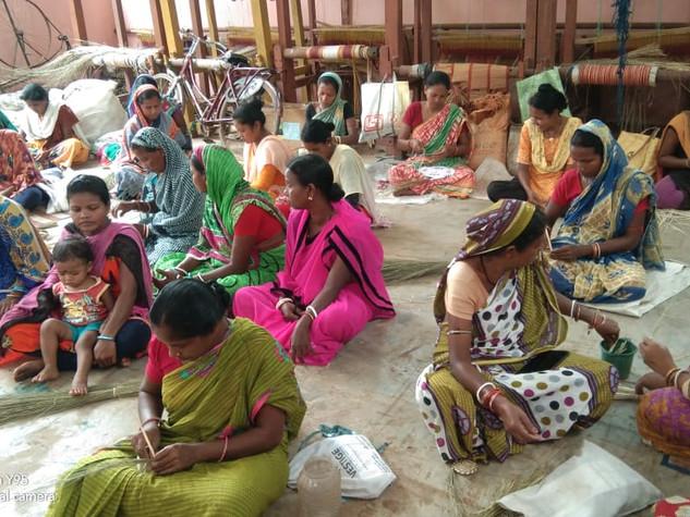 50 families, sabai grass, Guhaldihi village, District Mayurbhanj, distributed by Mayuree