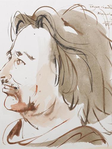 Jogen Chowdhury, Artist