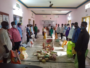 52 families, palm basket and pottery, Sakhigopal village, District Puri, distributed by Society for Women Action Development (SWAD)