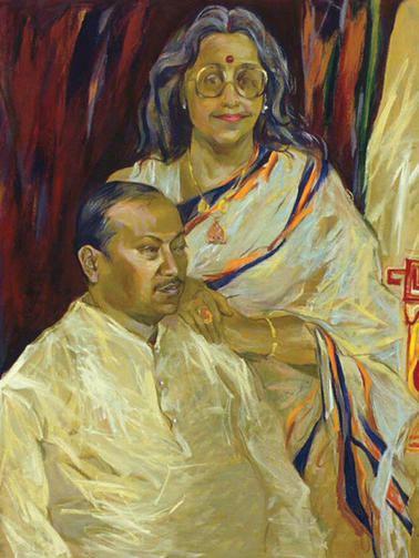 Mr. & Mrs. B K Shreshtha