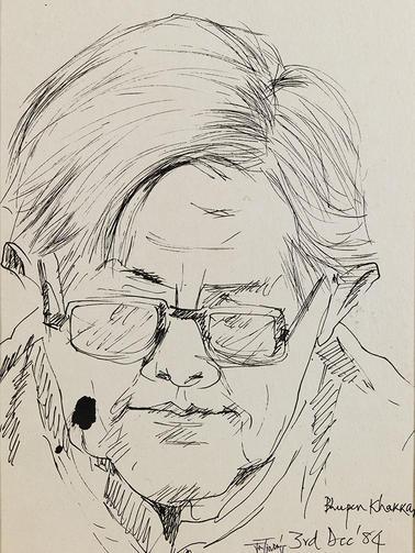 Bhupen Khakhar, Artist, Baroda