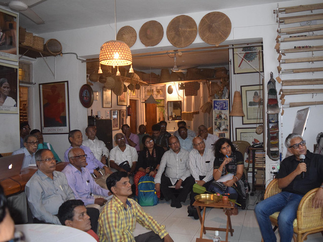 Monthly Meet the Artist illustrated lecture at JDCA Camp Office