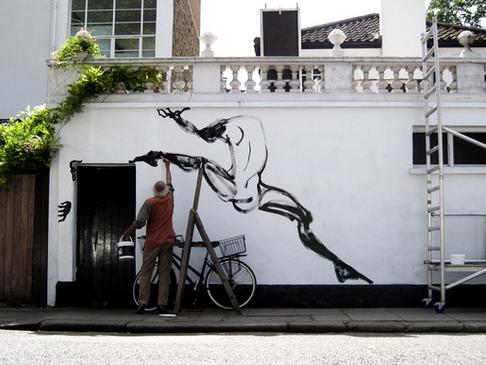 Facade Mural