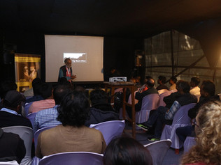 Film making workshop at the 12th Film Festival