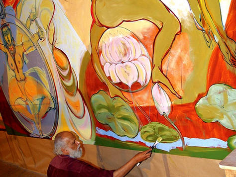 Birth of Brahmand, detail