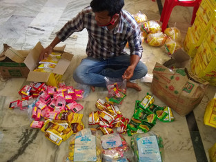 Packing of ration items