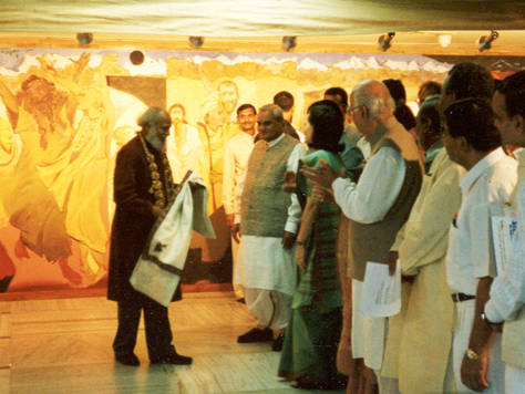 Inauguration Ceremony with Shri Atal Bihari Vajpayee, the then Prime Minister of India