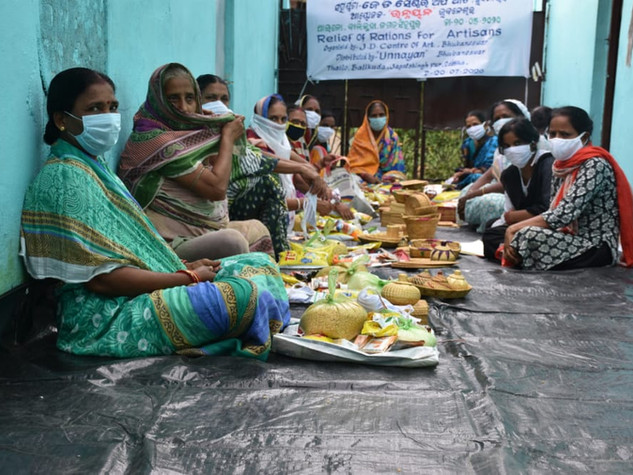 50 families, golden grass, Alikanta, Koranla, Nabanga, Thailo village, District Jagatsingh Pur, distributed by UNNAYAN