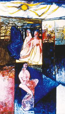 Egg Tempera Fresco, 1965