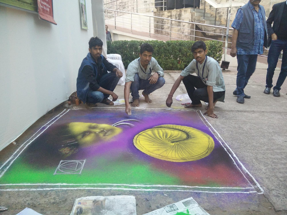 Sandart by students.jpg