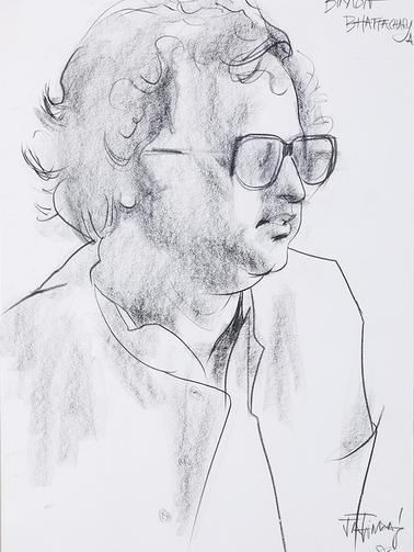 Bikash Bhattacharya, Artist, Calcutta