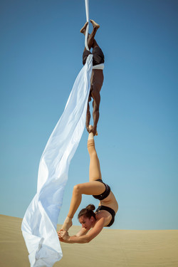 Doubles ankle hang scorpion