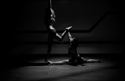 Splits and leg hold