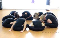 Group circle meditation