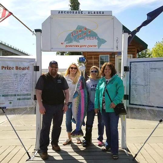 Anchorage King Salmon Derby at Ship Creek sponsors