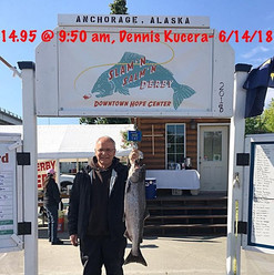 King Salmon fishing derby weigh in