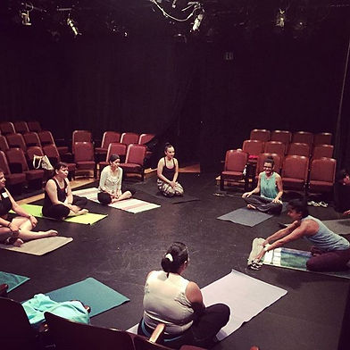 With our amazing yoga instructor Zuli _y