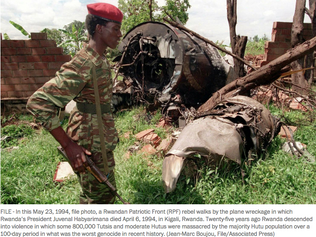 AP Photos: 25 years ago, images exposed Rwanda's genocide