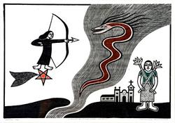 Gilvan Samico | O Triunfo da Virtude sobre o Demônio