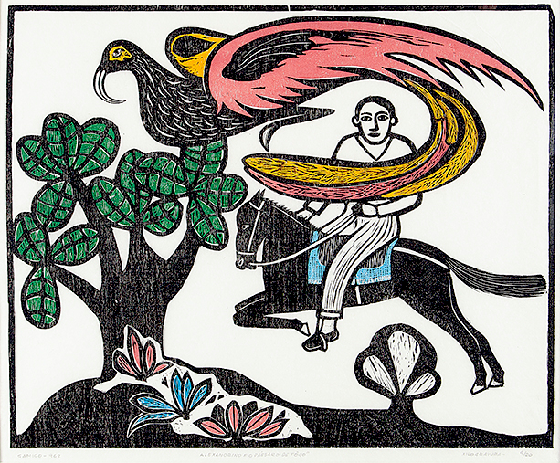 Samico | Alexandrino e o pássaro de fogo