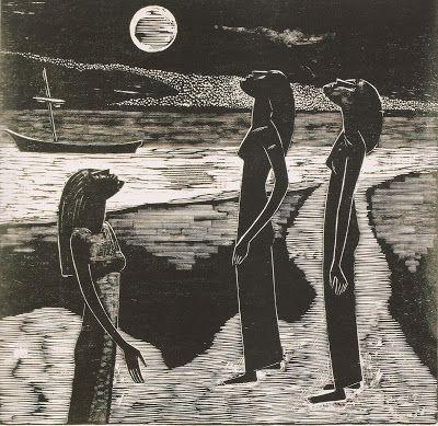Gilvan Samico | Três Mulheres e a Lua