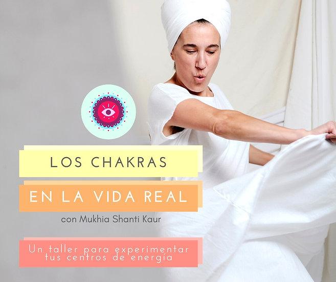 Taller Los Chakras en la vida real