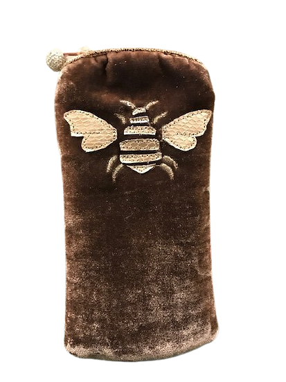 Velvet Bee Glasses Case