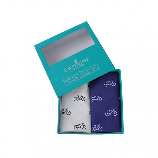 David Aster – Cycling Handkerchief Set