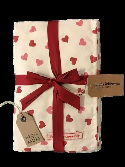 Emma Bridgewater Heart Tea Towel & Oven Gloves