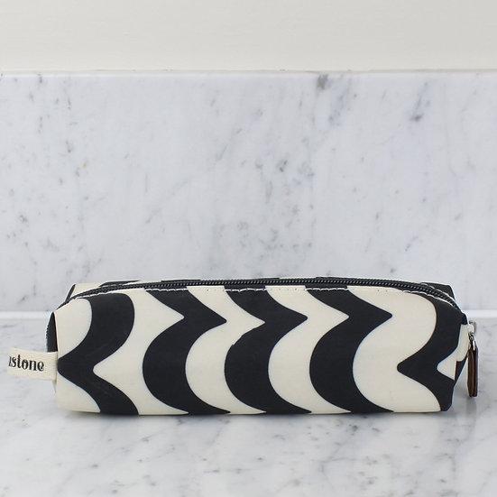 wave pencil/brush case
