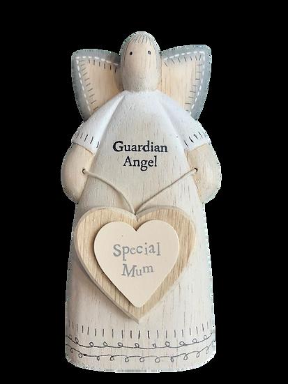 Wooden special Mum ornament