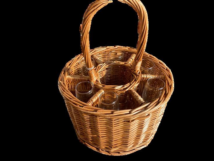 Wicker Wine Baskets