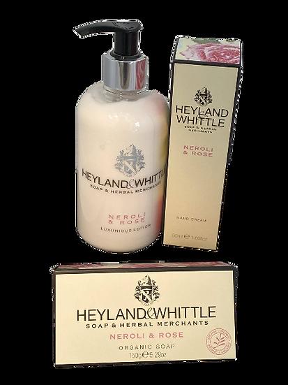 Heyland & Whittle Neroli&Rose Gift Bundle