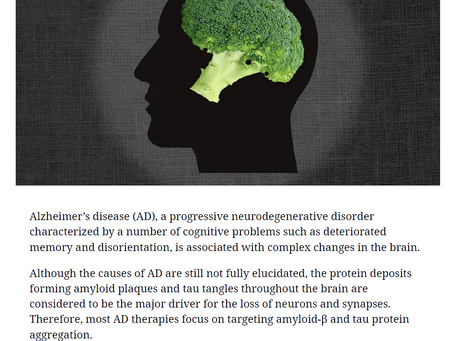 Disease Prevention: Broccoli for Your Memory! - Advanced Science News