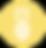 Icono de piña - Amarillo