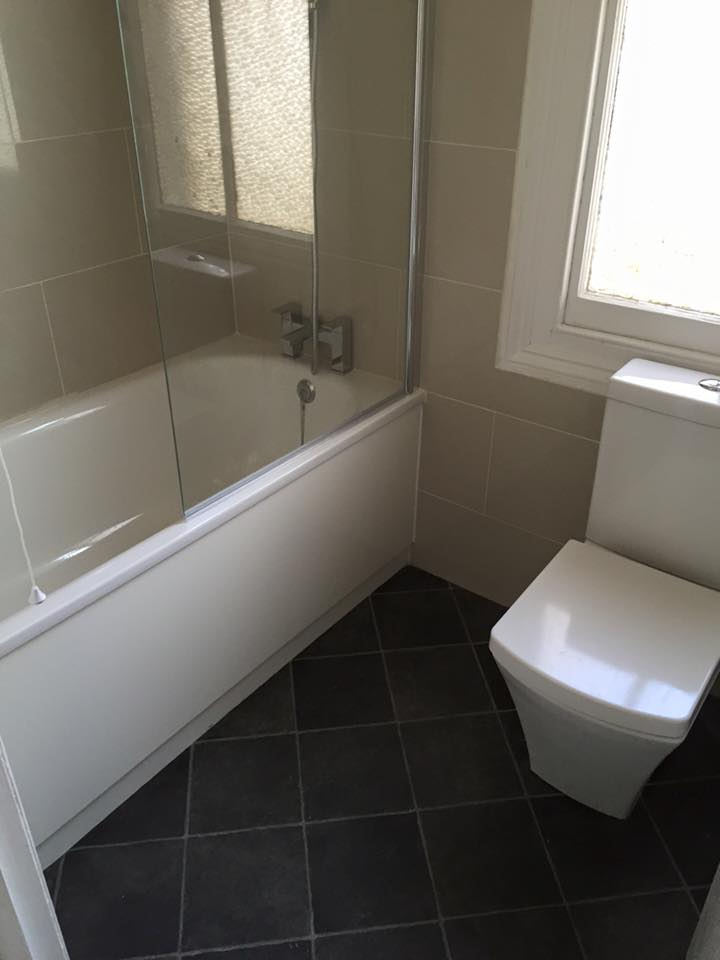 Bathroom Suite installed