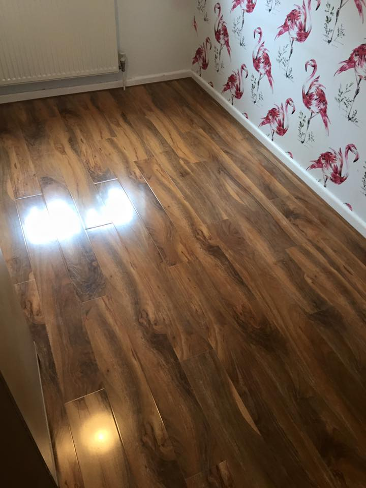 All kinds of flooring laid