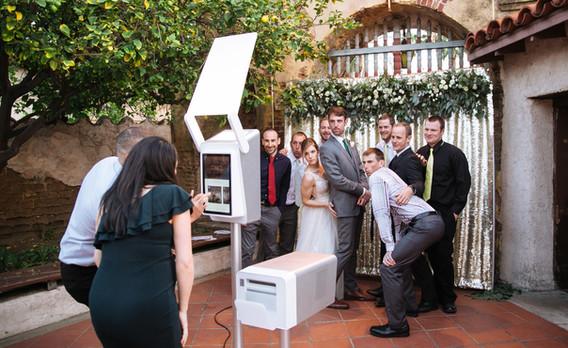 VA Wedding Couple + Family