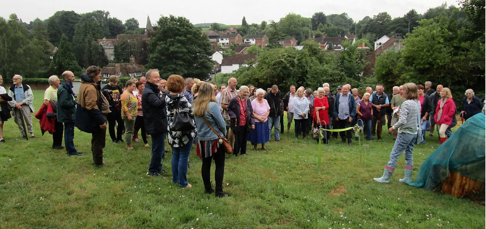 Opening of Roy's Wood