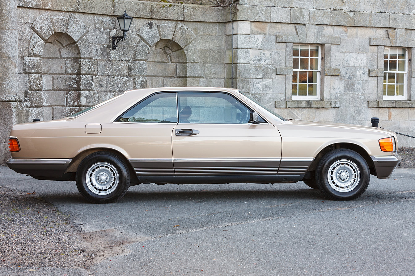 Mercedes benz 500 sec for sale w126 c126 exterior for Mercedes benz w126 for sale