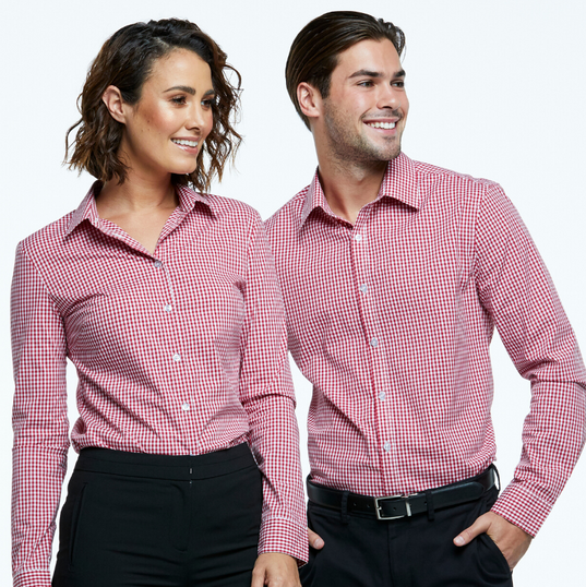 Shirt and Blouse combination in Stretch Classics fabric.