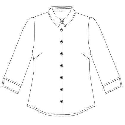 6230Q: Slim fit blouse