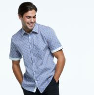 Men's shirt in Digital Print fabric.