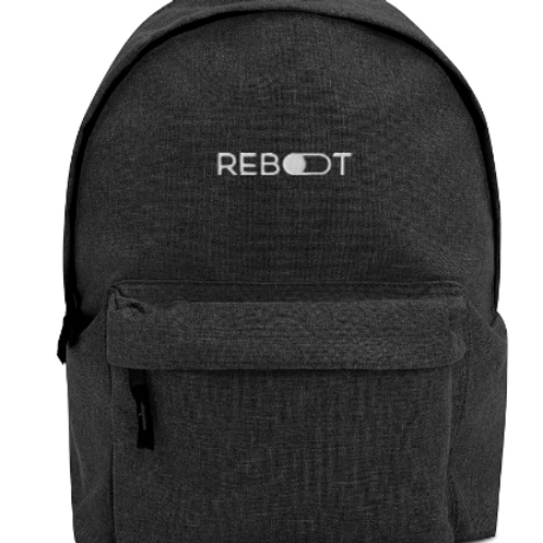Reboot Embroidered Backpack