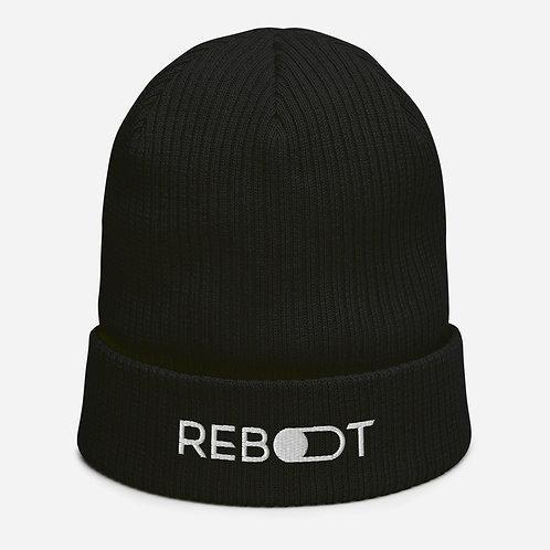 Reboot Organic ribbed beanie