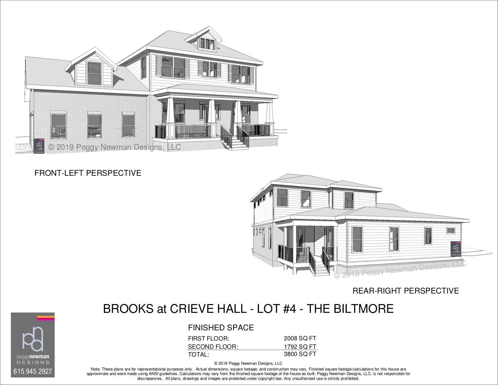 BILTMORE - Brooks at Crieve Hall - Lot 4