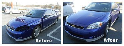 Before and After Malibu Repair