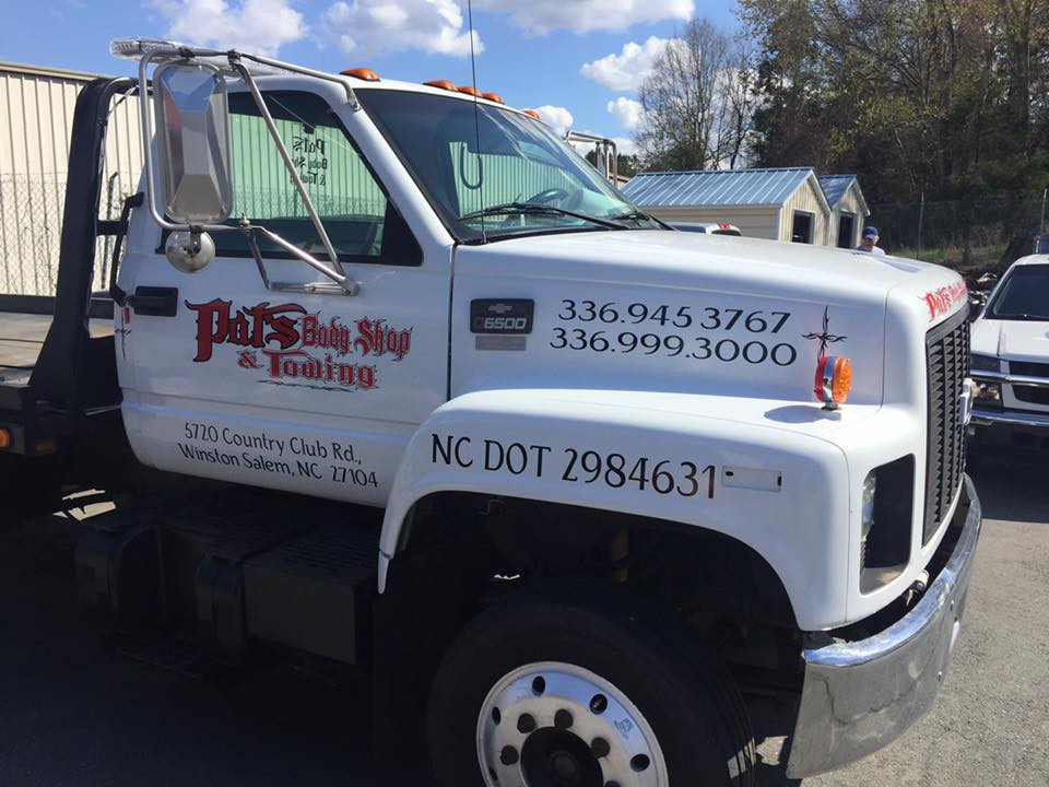 Pat's Body Shop & Towing