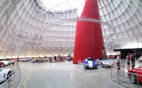 National Corvette Museum Skydome Update